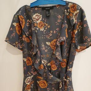 Crossbody blouse